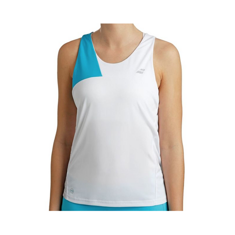 BABOLAT - COMPLETO TOP + GONNA - Donna - White/Horizon Blue