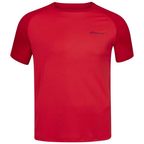 BABOLAT - T-SHIRT CREW - MAN- Red