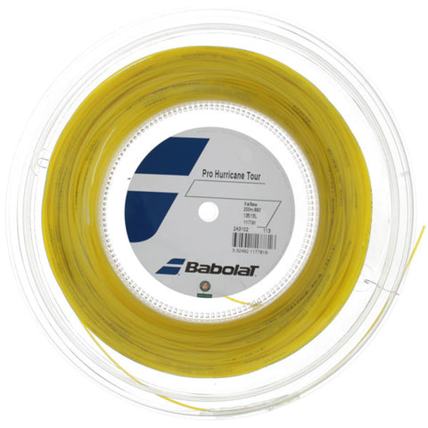 BABOLAT - Bobina Pro Hurricane Tour 1.25 - Yellow -
