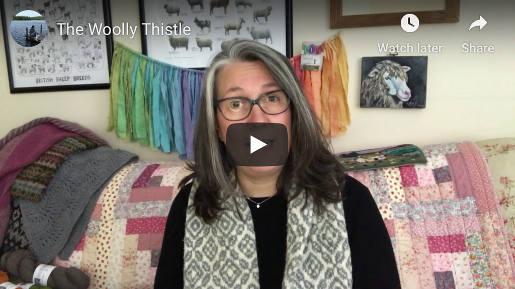 Youtube Shop Update featuring Blacker Yarns Birthday Cornish Garden