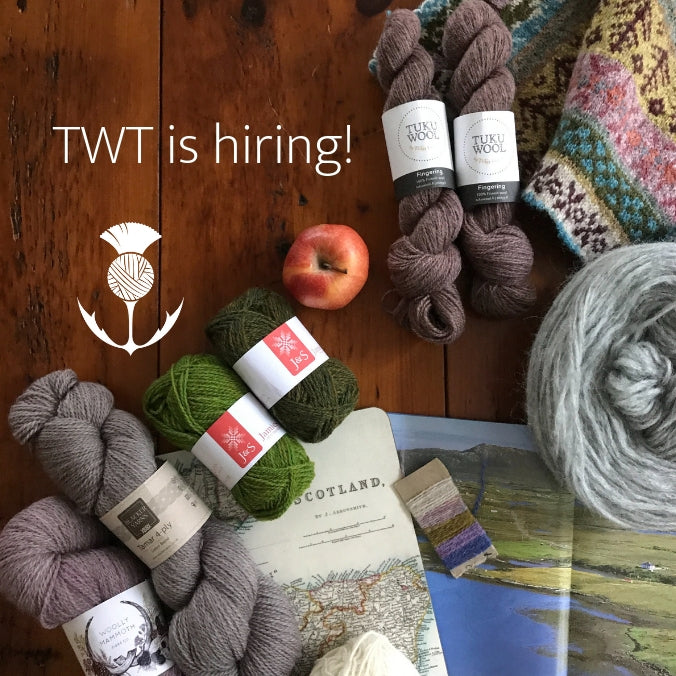 The Woolly Thistle is hiring!