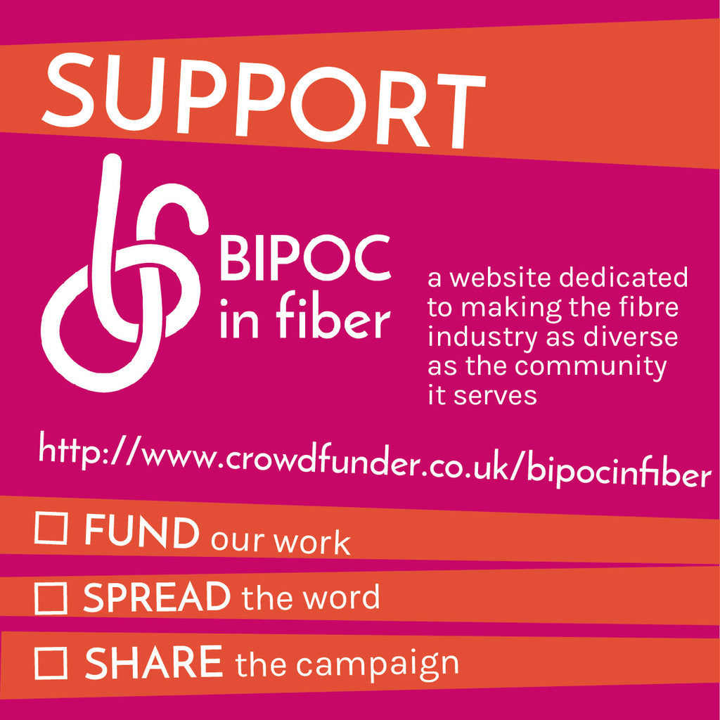 BIPOC In Fiber on Crowdfunder is gaining traction!