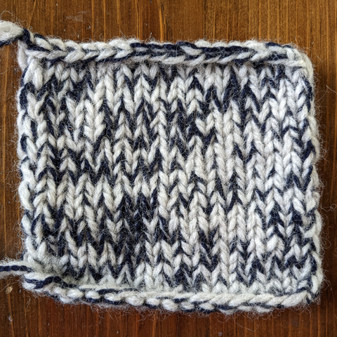The Woolly Thistle blog Marling with Rauma by Kelsey