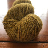 Blacker Tamar Lustre Blend 4-ply yarn in colorway Camel.