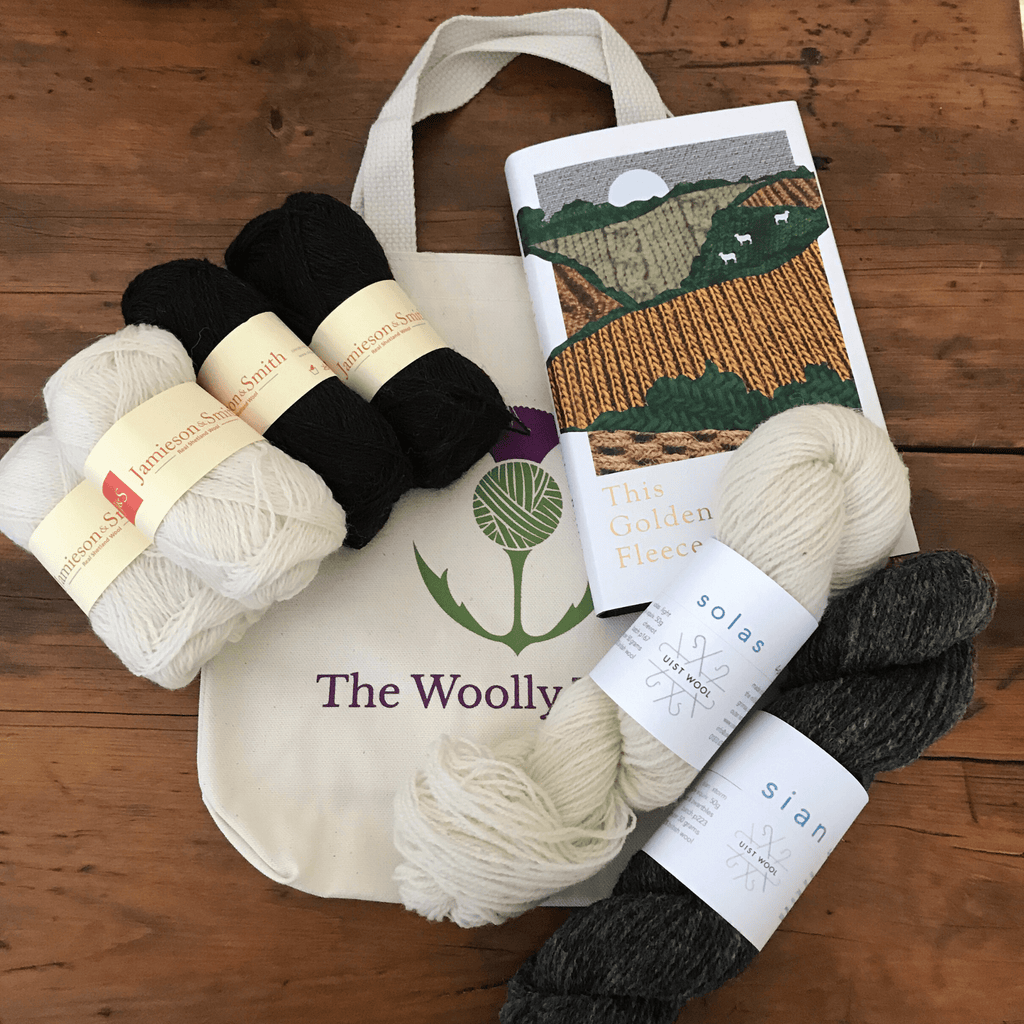 This Golden Fleece & Woolly Companion Yarn set
