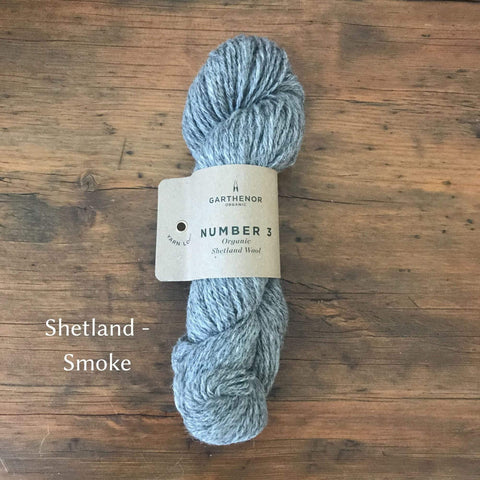 Garthenor Number 3 - DK weight in Shetland - Smoke