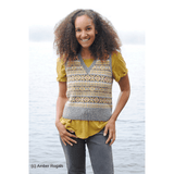 Vementry Vest by MJ Muckleston in Jamieson's DK