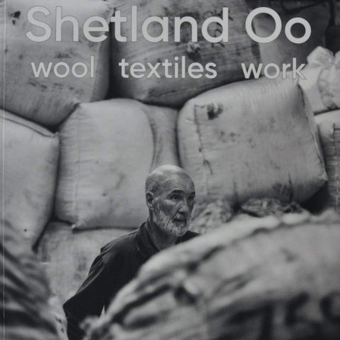 Cover image from Shetland Oo: Wool Textiles, work.