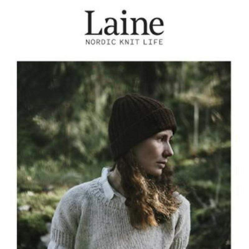 Front cover of Laine: Nordic Knit Life, issue 1.