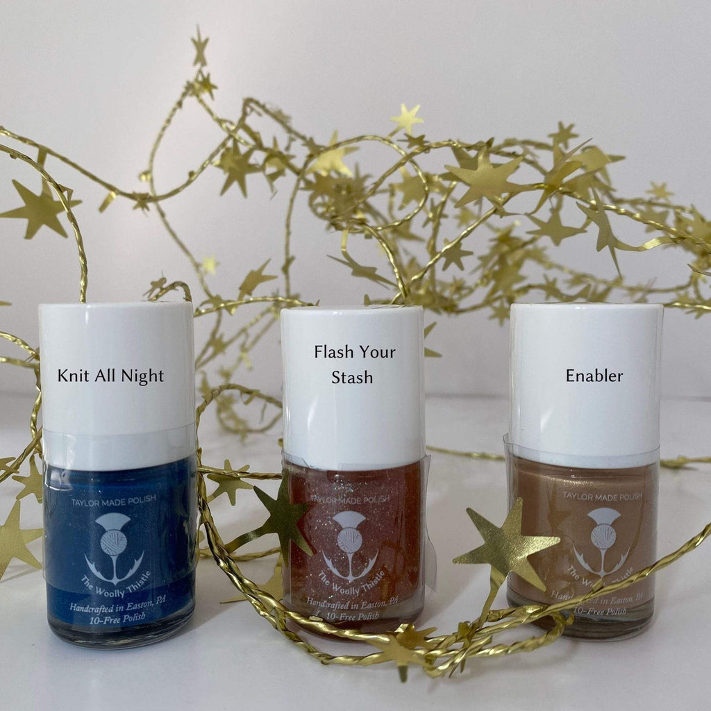 Knitters Nail Polish by The Woolly Thistle - SPARKLE