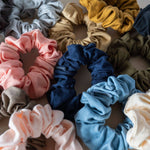 KOOSHOO Organic Scrunchies - Color Options Available