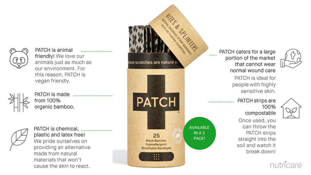 Patch Organic Bamboo Bandage Strips