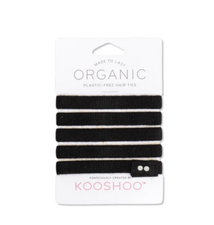 Load image into Gallery viewer, KOOSHOO Organic Cotton, Plastic-Free Hairties