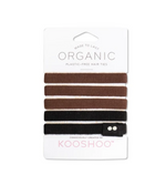 KOOSHOO Organic Cotton, Plastic-Free Hairties