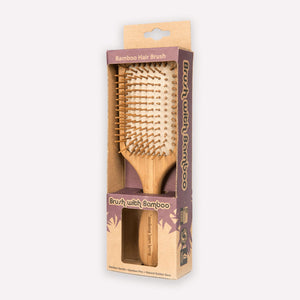 Load image into Gallery viewer, Bamboo Hair Brush