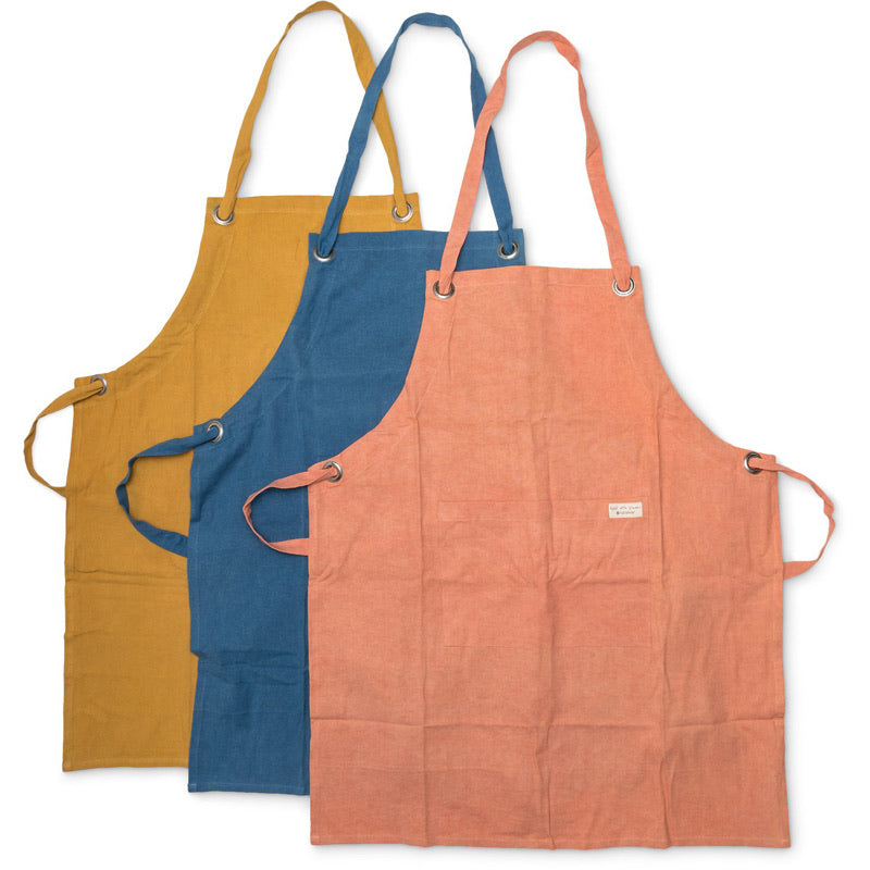 Organic Cotton Plant-Dyed Apron