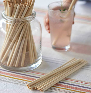 Load image into Gallery viewer, Bamboo Reusable Straw