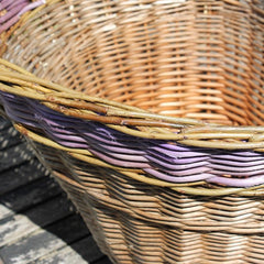 repaired bike basket