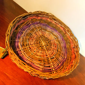Large Shallow Willow Bowl