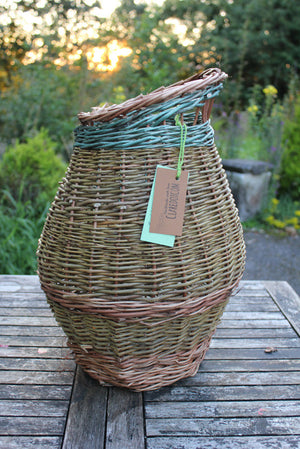 Tall willow vase