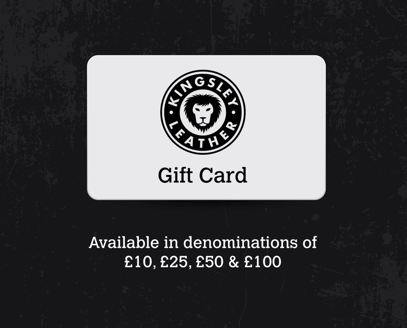Kingsley Leather Gift Card