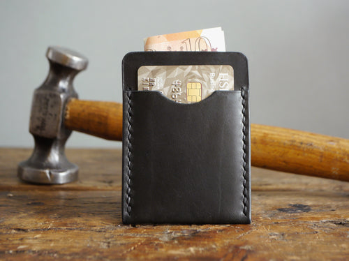 Slim Leather Cardholder - Classic Black