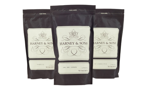 Harney and Sons 50 Count Tea Sachets