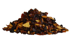 a pile of dried fruits used to brew fruit tea