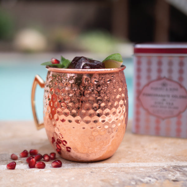 Harney and Sons Pomegranate Moscow Mule