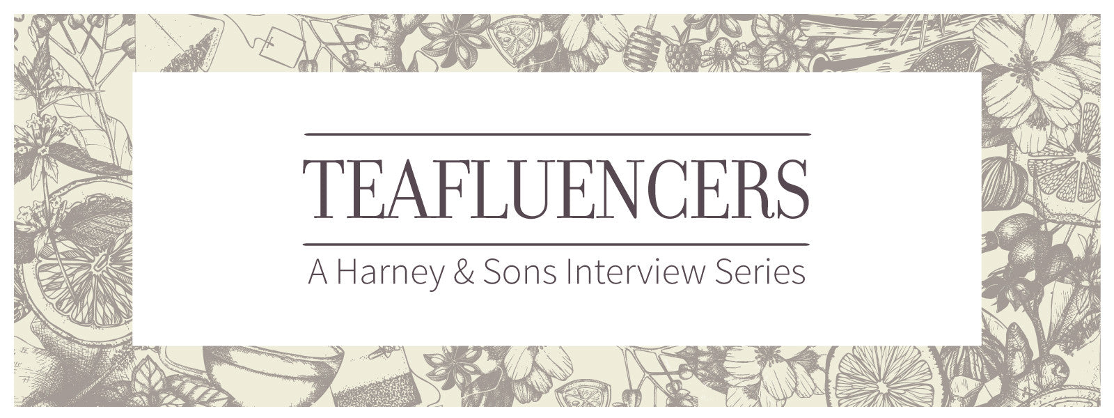 Harney and Sons Teafluencer Joel Banta