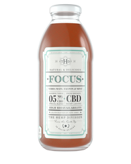 a single bottle of 5mg cbd tea
