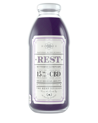 a single bottle of 15mg cbd tea