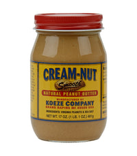 Koeze Cream-Nut Peanut Butter (Assorted) - Smooth  - Harney & Sons Fine Teas