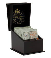Harney & Sons Sampler - Wooden Tea Chest with Wrapped Tea Sachets -   - Harney & Sons Fine Teas