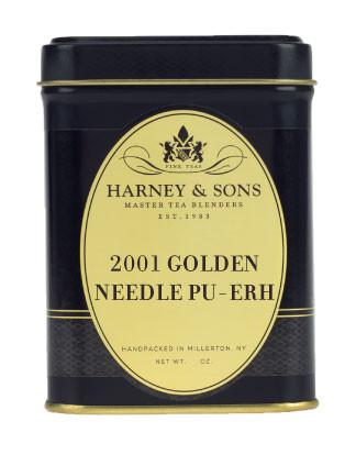 2001 Golden Needle Pu-Erh -   - Harney & Sons Fine Teas