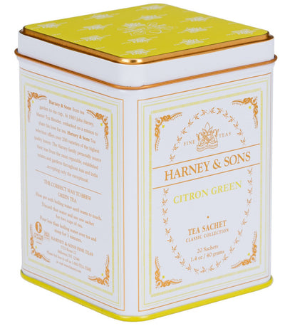 Citron Green, Classic Tin of 20 Sachets