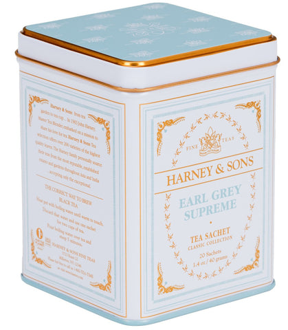 Earl Grey Supreme, Classic Tin of 20 Sachets