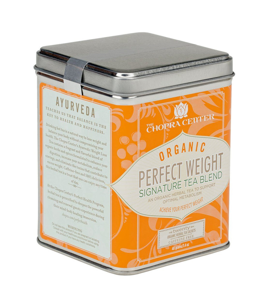 Chopra Center Organic Perfect Weight Signature Blend, Tin of 20 Sachets -   - Harney & Sons Fine Teas