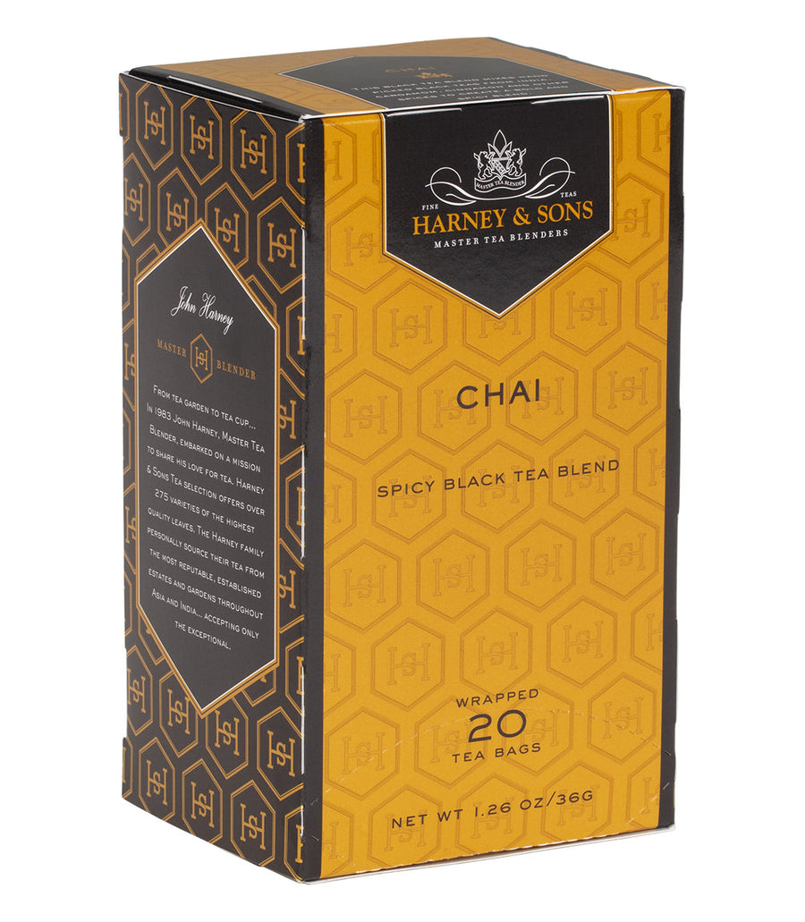 Chai, Box of 20 -   - Harney & Sons Fine Teas