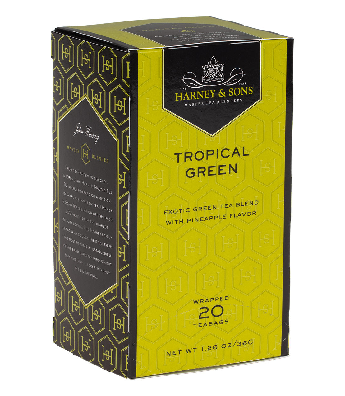HARNEY AND SONS TROPICAL GREEN TEA