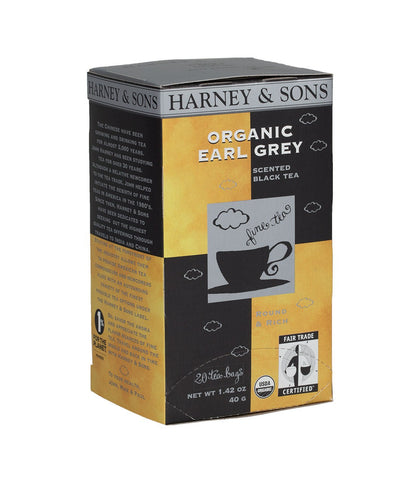 Organic Earl Grey, Box of 20 Premium Teabags