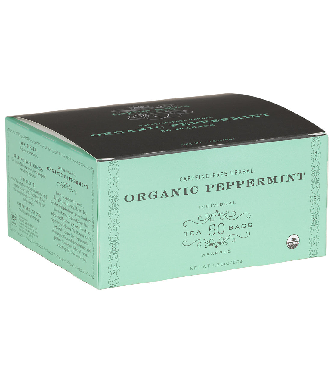 HARNEY AND SONS ORGANIC PEPPERMINT TEA