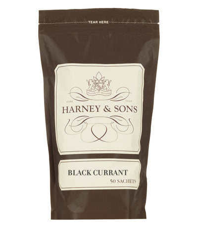 Black Currant - Sachets Bag of 50 Sachets - Harney & Sons Fine Teas