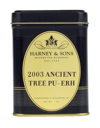 2003 Ancient Tree Pu-Erh - Loose Tea, 2oz Tin