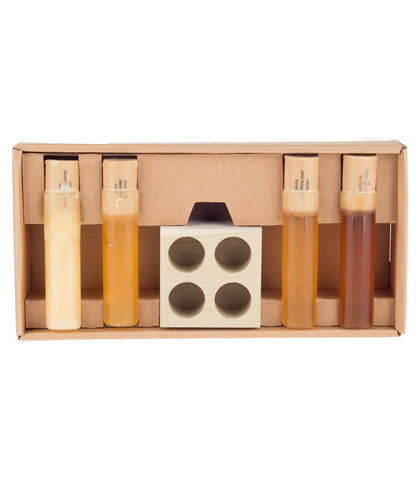 4 Wildflower Varietal Honey Flight Gift