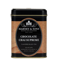 Chocolate Chai Supreme - Loose 4 oz. Tin - Harney & Sons Fine Teas