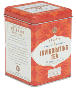 Chopra Center Organic Invigorating Tea, Tin of 20 Sachets -   - Harney & Sons Fine Teas