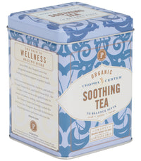Chopra Center Organic Soothing Tea, Tin of 20 Sachets -   - Harney & Sons Fine Teas