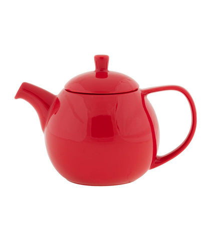 Curve Teapot with Infuser, 24 oz (Multiple Colors)
