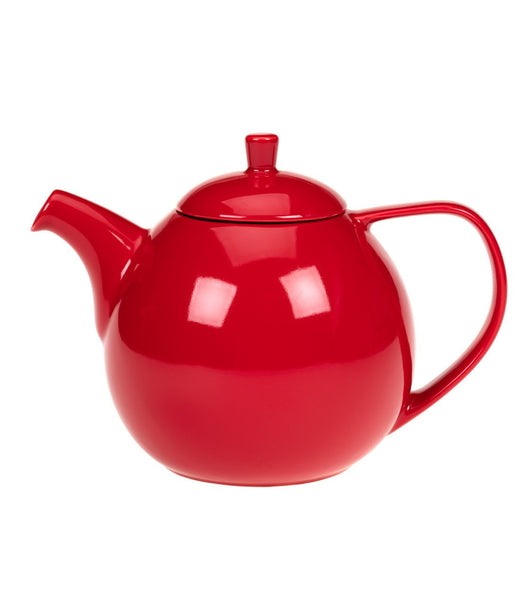 Curve Teapot with Infuser, 45 oz (Multiple Colors)